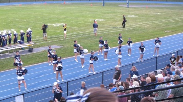 Blue Out Football Game, Benefit for Thelma Urban, Raider Band, Sports Stadium, Tamaqua, 9-4-2015 (274)