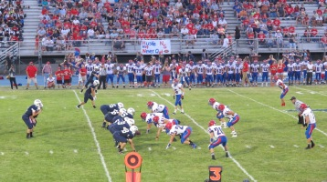 Blue Out Football Game, Benefit for Thelma Urban, Raider Band, Sports Stadium, Tamaqua, 9-4-2015 (285)