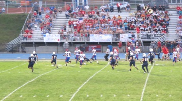 Blue Out Football Game, Benefit for Thelma Urban, Raider Band, Sports Stadium, Tamaqua, 9-4-2015 (288)