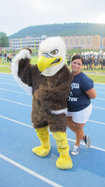 Blue Out Football Game, Benefit for Thelma Urban, Raider Band, Sports Stadium, Tamaqua, 9-4-2015 (290)