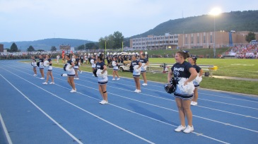 Blue Out Football Game, Benefit for Thelma Urban, Raider Band, Sports Stadium, Tamaqua, 9-4-2015 (295)