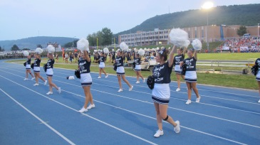 Blue Out Football Game, Benefit for Thelma Urban, Raider Band, Sports Stadium, Tamaqua, 9-4-2015 (296)