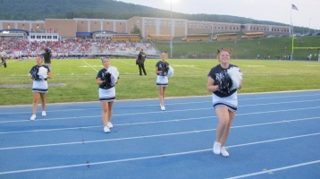 Blue Out Football Game, Benefit for Thelma Urban, Raider Band, Sports Stadium, Tamaqua, 9-4-2015 (297)