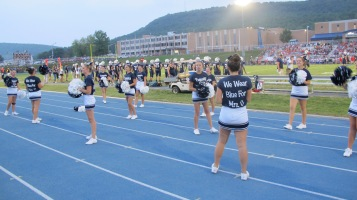 Blue Out Football Game, Benefit for Thelma Urban, Raider Band, Sports Stadium, Tamaqua, 9-4-2015 (299)