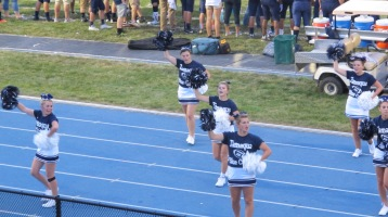 Blue Out Football Game, Benefit for Thelma Urban, Raider Band, Sports Stadium, Tamaqua, 9-4-2015 (308)