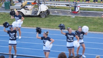 Blue Out Football Game, Benefit for Thelma Urban, Raider Band, Sports Stadium, Tamaqua, 9-4-2015 (309)
