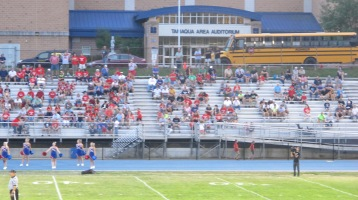 Blue Out Football Game, Benefit for Thelma Urban, Raider Band, Sports Stadium, Tamaqua, 9-4-2015 (317)