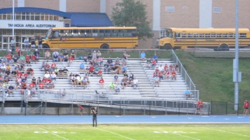 Blue Out Football Game, Benefit for Thelma Urban, Raider Band, Sports Stadium, Tamaqua, 9-4-2015 (318)
