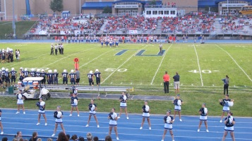 Blue Out Football Game, Benefit for Thelma Urban, Raider Band, Sports Stadium, Tamaqua, 9-4-2015 (322)