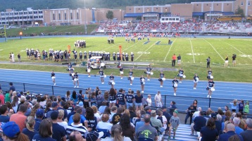 Blue Out Football Game, Benefit for Thelma Urban, Raider Band, Sports Stadium, Tamaqua, 9-4-2015 (323)