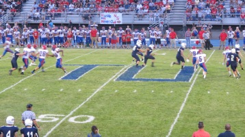 Blue Out Football Game, Benefit for Thelma Urban, Raider Band, Sports Stadium, Tamaqua, 9-4-2015 (325)