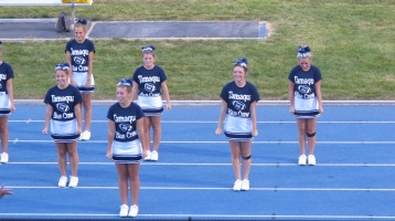 Blue Out Football Game, Benefit for Thelma Urban, Raider Band, Sports Stadium, Tamaqua, 9-4-2015 (332)