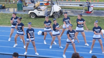Blue Out Football Game, Benefit for Thelma Urban, Raider Band, Sports Stadium, Tamaqua, 9-4-2015 (335)