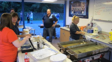 Blue Out Football Game, Benefit for Thelma Urban, Raider Band, Sports Stadium, Tamaqua, 9-4-2015 (344)