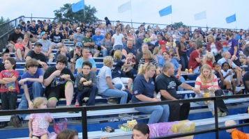 Blue Out Football Game, Benefit for Thelma Urban, Raider Band, Sports Stadium, Tamaqua, 9-4-2015 (353)