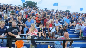 Blue Out Football Game, Benefit for Thelma Urban, Raider Band, Sports Stadium, Tamaqua, 9-4-2015 (354)