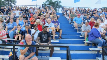 Blue Out Football Game, Benefit for Thelma Urban, Raider Band, Sports Stadium, Tamaqua, 9-4-2015 (355)