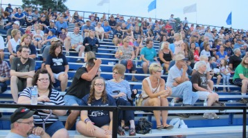 Blue Out Football Game, Benefit for Thelma Urban, Raider Band, Sports Stadium, Tamaqua, 9-4-2015 (358)