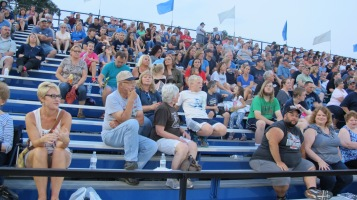 Blue Out Football Game, Benefit for Thelma Urban, Raider Band, Sports Stadium, Tamaqua, 9-4-2015 (359)