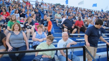 Blue Out Football Game, Benefit for Thelma Urban, Raider Band, Sports Stadium, Tamaqua, 9-4-2015 (361)