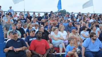 Blue Out Football Game, Benefit for Thelma Urban, Raider Band, Sports Stadium, Tamaqua, 9-4-2015 (362)