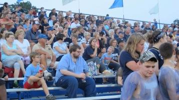 Blue Out Football Game, Benefit for Thelma Urban, Raider Band, Sports Stadium, Tamaqua, 9-4-2015 (363)