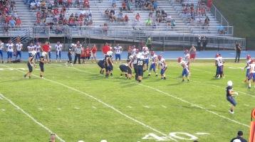 Blue Out Football Game, Benefit for Thelma Urban, Raider Band, Sports Stadium, Tamaqua, 9-4-2015 (372)