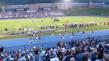 Blue Out Football Game, Benefit for Thelma Urban, Raider Band, Sports Stadium, Tamaqua, 9-4-2015 (375)