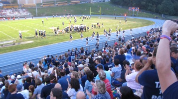 Blue Out Football Game, Benefit for Thelma Urban, Raider Band, Sports Stadium, Tamaqua, 9-4-2015 (379)