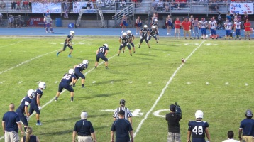 Blue Out Football Game, Benefit for Thelma Urban, Raider Band, Sports Stadium, Tamaqua, 9-4-2015 (386)