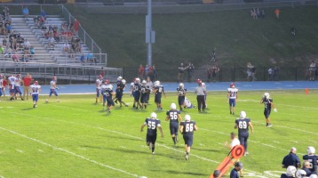 Blue Out Football Game, Benefit for Thelma Urban, Raider Band, Sports Stadium, Tamaqua, 9-4-2015 (404)