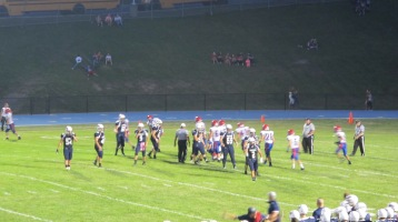 Blue Out Football Game, Benefit for Thelma Urban, Raider Band, Sports Stadium, Tamaqua, 9-4-2015 (419)