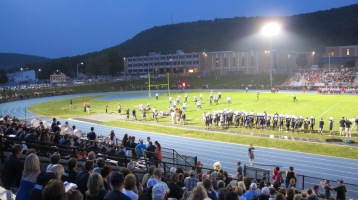 Blue Out Football Game, Benefit for Thelma Urban, Raider Band, Sports Stadium, Tamaqua, 9-4-2015 (421)