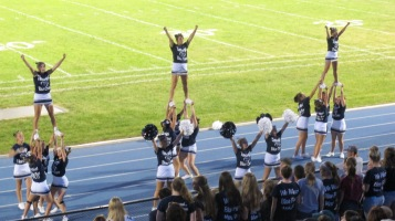 Blue Out Football Game, Benefit for Thelma Urban, Raider Band, Sports Stadium, Tamaqua, 9-4-2015 (425)