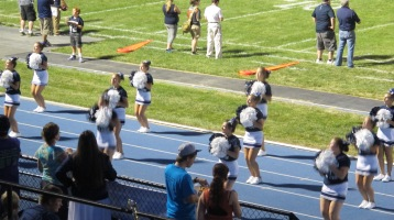 Blue Out Football Game, Benefit for Thelma Urban, Raider Band, Sports Stadium, Tamaqua, 9-4-2015 (435)