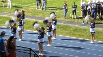 Blue Out Football Game, Benefit for Thelma Urban, Raider Band, Sports Stadium, Tamaqua, 9-4-2015 (436)