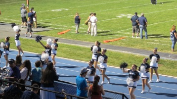 Blue Out Football Game, Benefit for Thelma Urban, Raider Band, Sports Stadium, Tamaqua, 9-4-2015 (437)