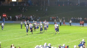 Blue Out Football Game, Benefit for Thelma Urban, Raider Band, Sports Stadium, Tamaqua, 9-4-2015 (441)