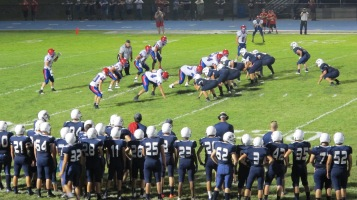 Blue Out Football Game, Benefit for Thelma Urban, Raider Band, Sports Stadium, Tamaqua, 9-4-2015 (442)