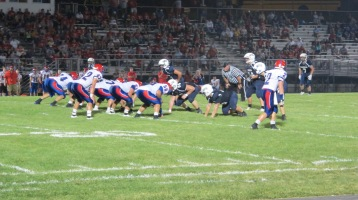 Blue Out Football Game, Benefit for Thelma Urban, Raider Band, Sports Stadium, Tamaqua, 9-4-2015 (457)