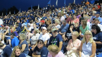 Blue Out Football Game, Benefit for Thelma Urban, Raider Band, Sports Stadium, Tamaqua, 9-4-2015 (461)