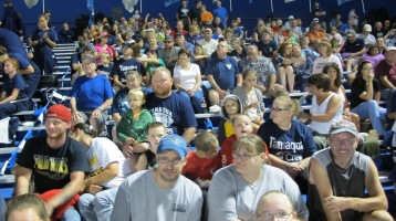 Blue Out Football Game, Benefit for Thelma Urban, Raider Band, Sports Stadium, Tamaqua, 9-4-2015 (464)