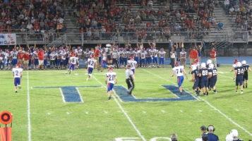 Blue Out Football Game, Benefit for Thelma Urban, Raider Band, Sports Stadium, Tamaqua, 9-4-2015 (474)