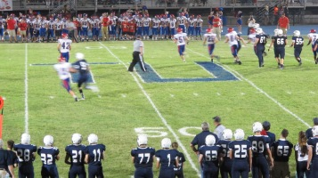 Blue Out Football Game, Benefit for Thelma Urban, Raider Band, Sports Stadium, Tamaqua, 9-4-2015 (479)