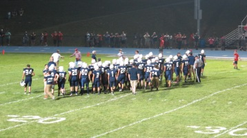 Blue Out Football Game, Benefit for Thelma Urban, Raider Band, Sports Stadium, Tamaqua, 9-4-2015 (486)