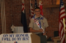Christopher, Chris Daynorowicz, earns Eagle Scout Award, Hawk Mountain Scout (100)