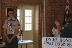 Christopher, Chris Daynorowicz, earns Eagle Scout Award, Hawk Mountain Scout (108)