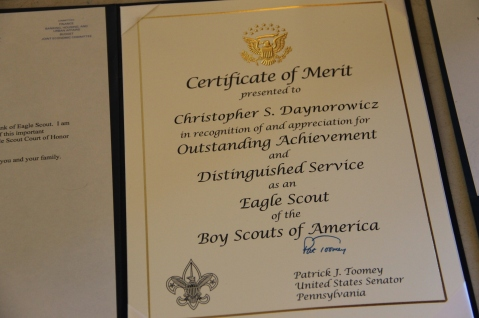 Christopher, Chris Daynorowicz, earns Eagle Scout Award, Hawk Mountain Scout (11)