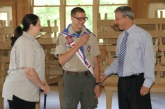 Christopher, Chris Daynorowicz, earns Eagle Scout Award, Hawk Mountain Scout (117)