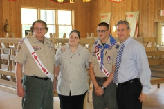 Christopher, Chris Daynorowicz, earns Eagle Scout Award, Hawk Mountain Scout (118)